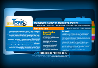 Page intérieure Transports TSRP
